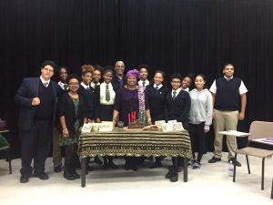 The Berkeley Institute Ashay Club - Kwanzaa lesson