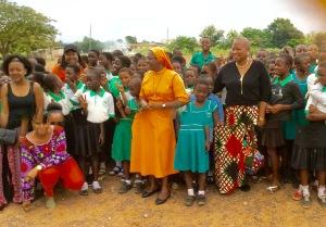Visiting Atasemanso R/C Primary School, Kumasi