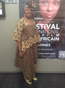 MMVP at the Pan African Film Festival, Cannes, France, May 2015