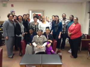 Life Before Enslavement Class, November 2015