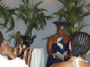 MMVP reading at Book Launch, Fairmont Hamilton Princess Hotel, Bermuda (2009)