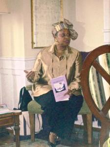 Poetry reading in Bermuda