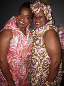 Dawn Sutherland and MMVP in Ghana