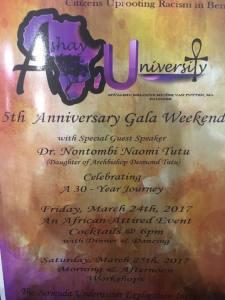 Ashay U 5th Anniversary Gala Weekend Program