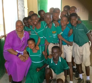 Students at Atasemanso R/C Primary School